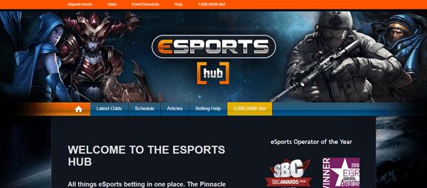 Електронни спортове в Пинакъл - залози в интернет